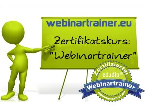 Train the Trainer für Webinare (Webinartrainer Zertifikatskurs)