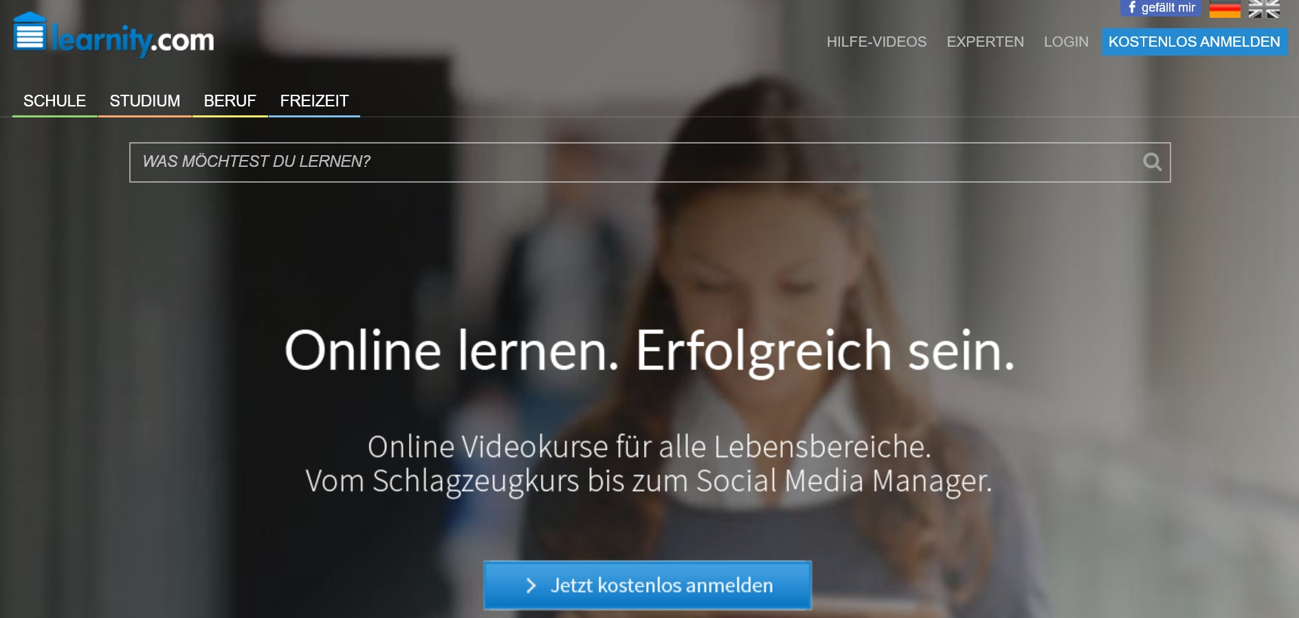 Content distribution mit learnity
